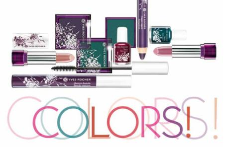 Make-Up Linie COLORS Yves Rocher
