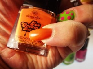 Ice Cream Polish Mango-Papaya