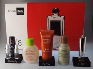 Gelungene Beautybox aus der Schweiz