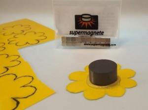 Magnetisches Schild für Box of Beauty basteln