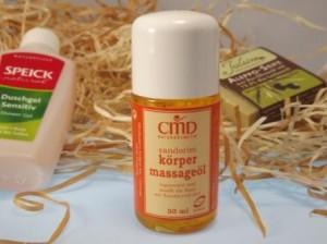 CMD Naturkosmetik Sandorini Körpermassageöl