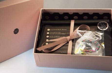 Glossybox Box ausgepackt