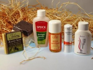 biobox mit Naturkosmetik und Biokosmetik