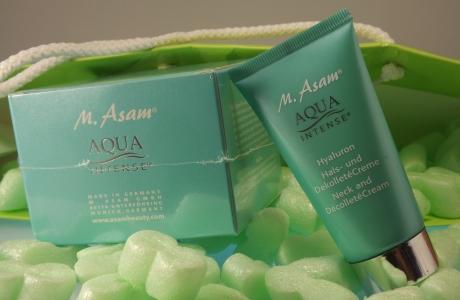 Aqua Intense mit Hyaluron für Hals und Dekollete