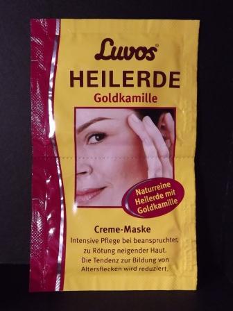 Luvos HEILERDE Goldkamille Creme-Maske