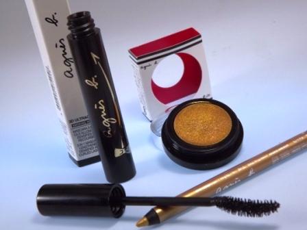 Lidschatten, Liner Metallic und Mascara