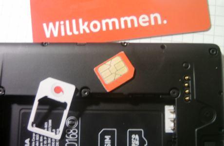 Prepaid Karte und Shopping Apps