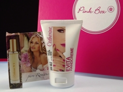 Zwei Catherine Produkte in der Februar Beautybox