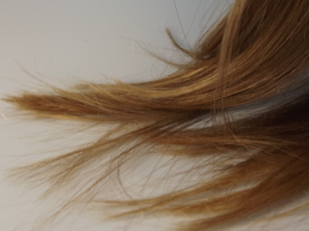 Haarspitzen pflegen mit Kokosfett