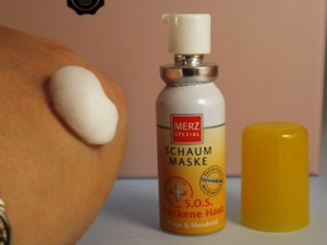 Merz Spezial Schaum Maske SOS Trockene Haut