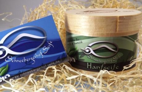 Woche der Seife: Handgemachte Bio Hanfseife