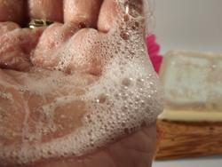 Zitronengrasseife hinterlässt tollen Duft auf der Haut