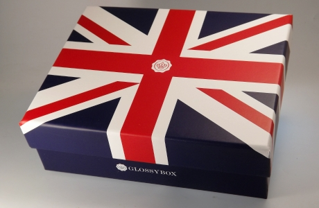 Glossybox BEST OF BRITAIN Unpacking