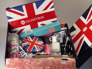 Glossybox BEST OF BRITAIN ausgepackt