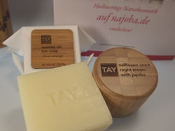 TAY SKINCARE essential oils bar soap