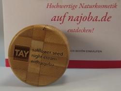 TAY SKINCARE safflower seed night cream with jojoba
