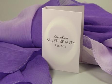 Calvin Klein Schal mit Farbverlauf & Duftprobe Sheer Beauty Essence