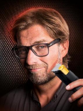 Jürgen Klopp macht Kampagne zum Beard Trimmer 9000