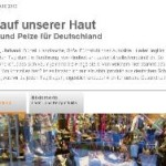 Gift auf unserer Haut – Leder und Pelze für Deutschland