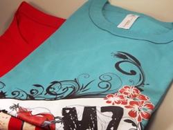 Modische Shirts bedrucken lassen