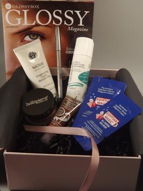 Tolle Glossybox Oktober Beauty Balance