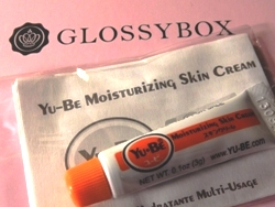 Goodie in der Glossybox Januar