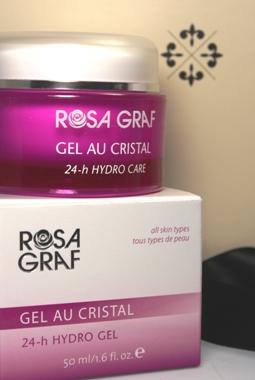 Rosa Graf Gel Au Cristal