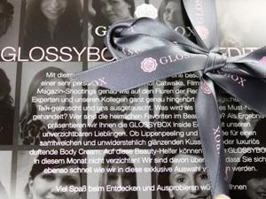 Glossybox März