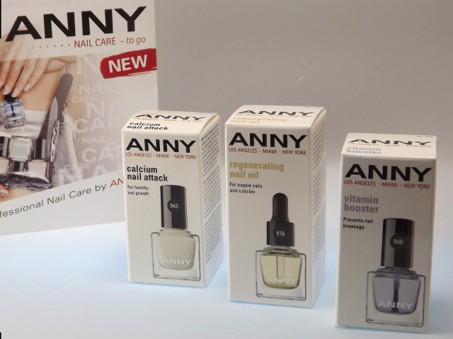 ANNY calcium nail attack Nail Care to go