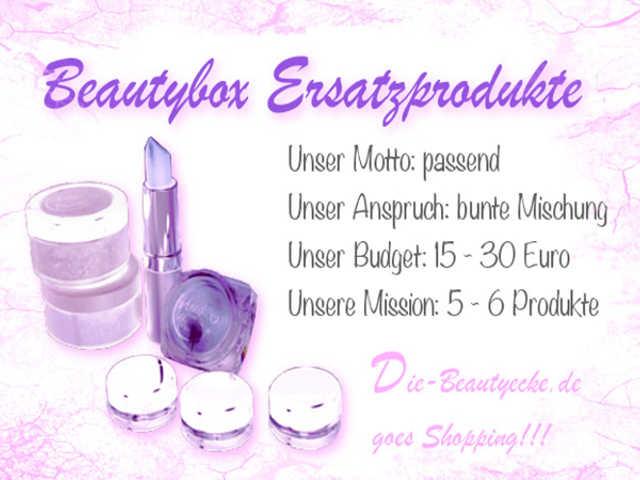 Gewinnspiel: Beautybox Ersatzprodukte
