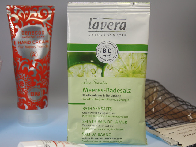 Lavera Body SPA Badesalz Lime Sensation