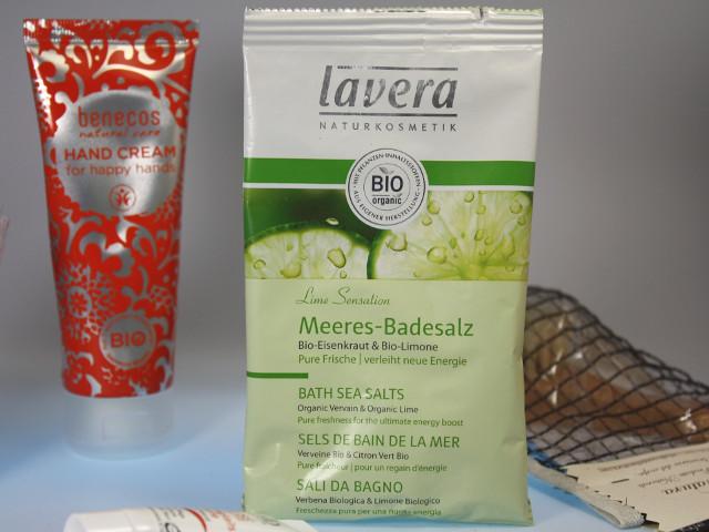 Lavera Body SPA Badesalz Lime Sensation