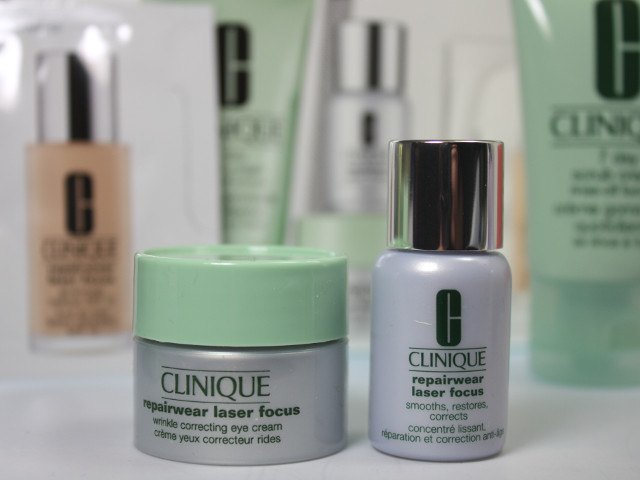Produkte des Clinique Sets