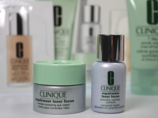 Produkte des Clinique Sets