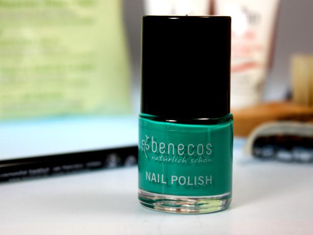 benecos Nagellack green way