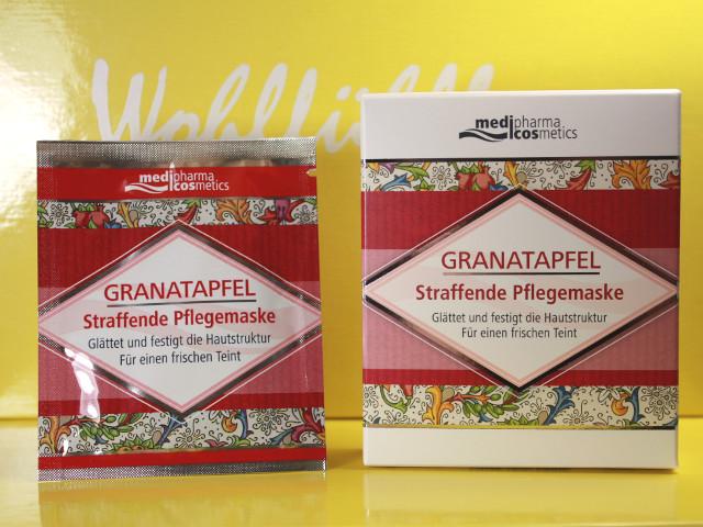medipharma cosmetics Granatapfel Straffende Gesichtsmaske