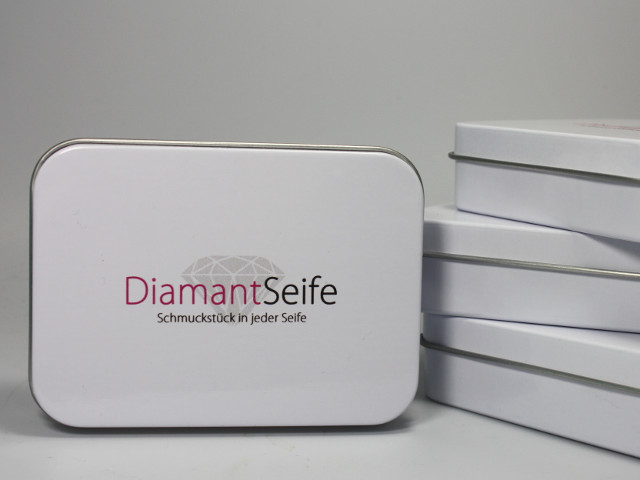 Diamantseife - Schmuckstück in jeder Seife