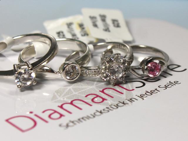 Ringe aus der Diamantseife