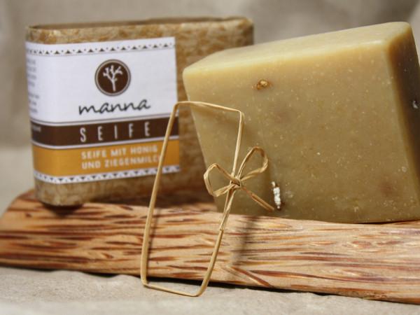 Manna Seife mit Honig und Ziegenmilch 45 g