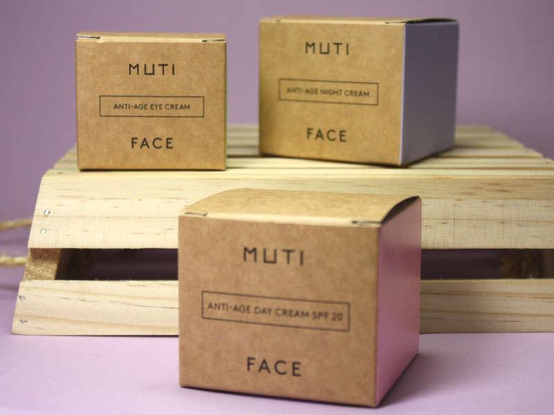MUTI Gesichtspflegelinie