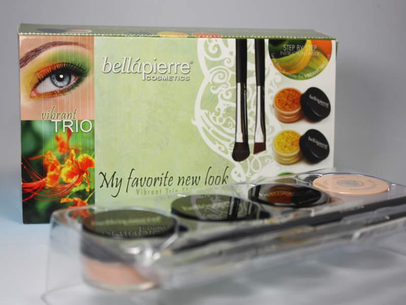 Minerallidschatten Set von bellapierre