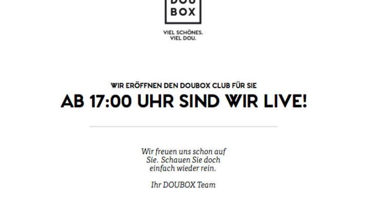 Doubox & Douglas Gutschein