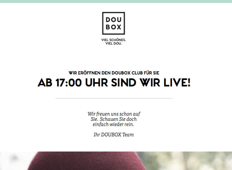 Neue Douglas Box Doubox