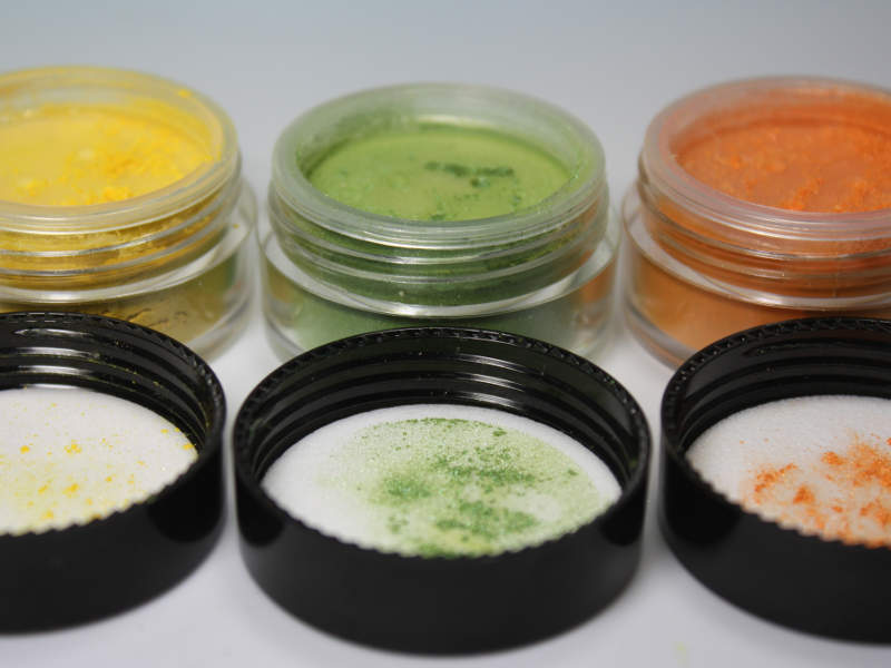 vibrant TRIO Minerallidschatten Set