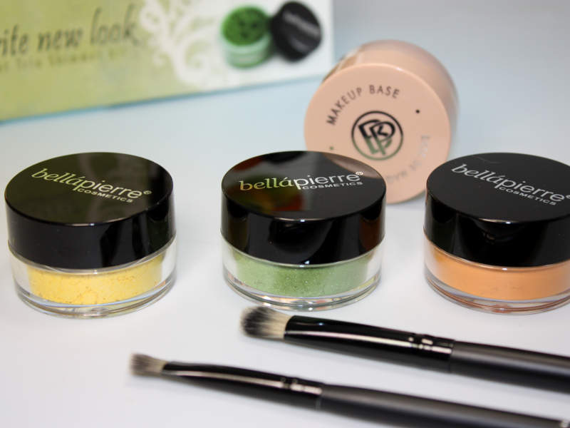 vibrant TRIO shimmer kit My favorite new look