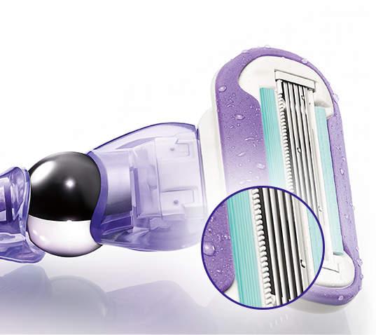 Mikrokamm Gillette Venus Swirl