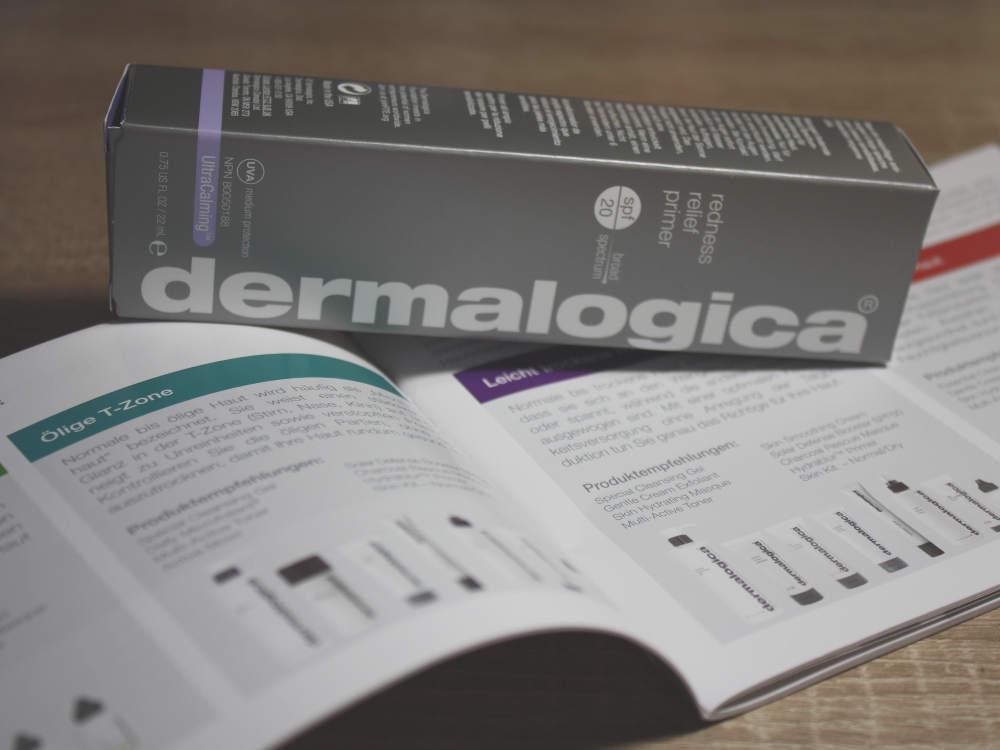 Grüner Primer von Dermalogica gegen Rötungen im Gesicht