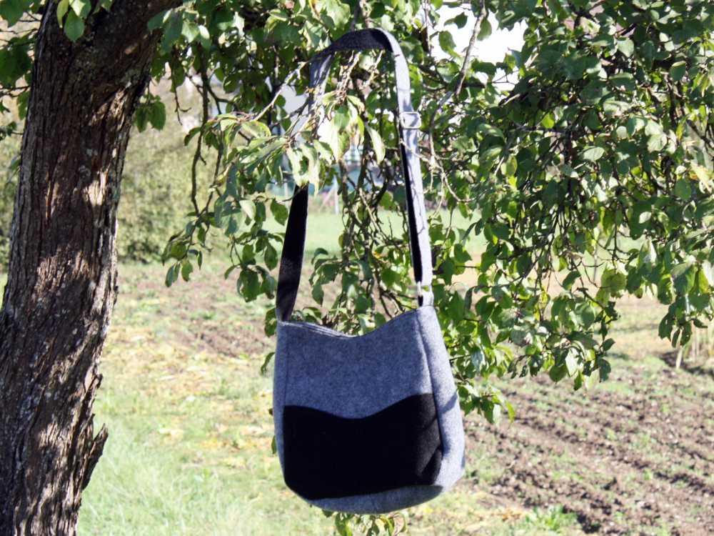 Stofftasche statt Plastiktüte beim Einkauf verwenden